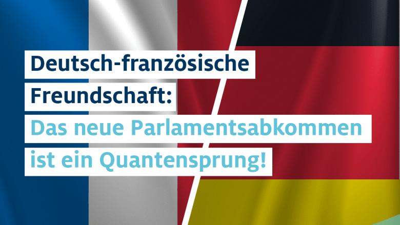 Deutsch-französisches Parlamentsabkommen