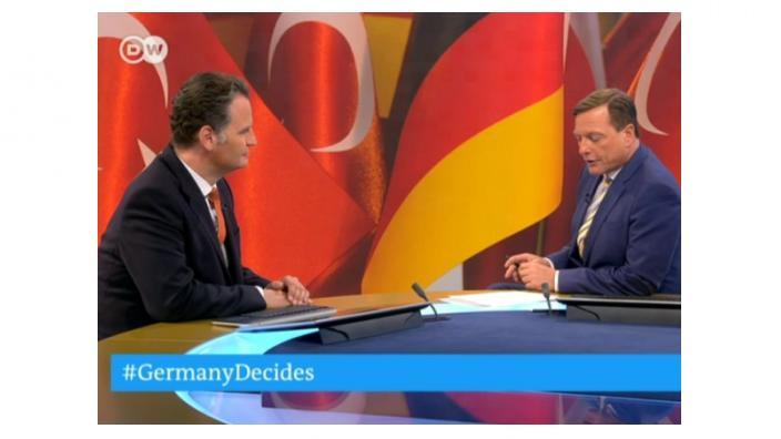 Krings im Interview bei der Deutschen Welle